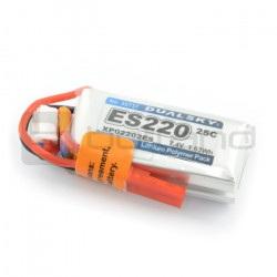 Pakiet LiPol Dualsky 220mAh 25C 2S 7.4V