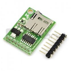 Miniaturowy czytnik kart microSD z buforem i stabilizatorem - MOD-13