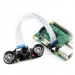 Camera HD Night Vision F - kamera IR ze zmienną ogniskową dla Raspberry Pi + moduły IR