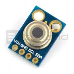 Cyfrowy termometr na podczerwień MLX90614ESF I2C - moduł pirometr