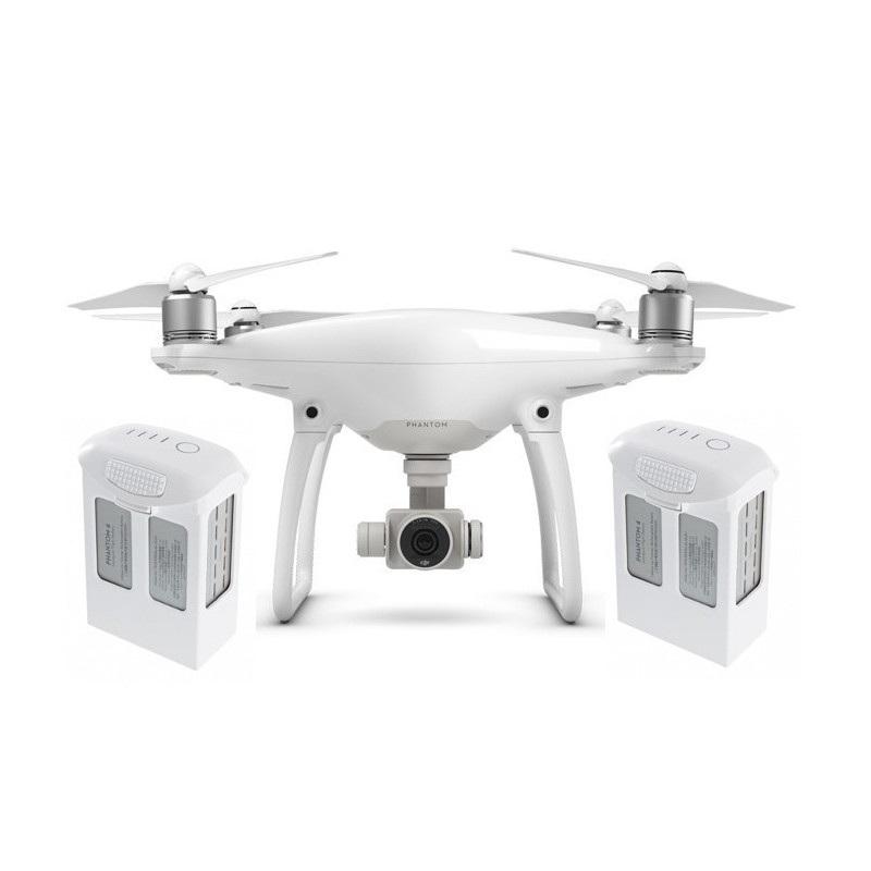 Dron quadrocopter DJI Phantom 4  z gimbalem 3D i kamerą 4k UHD + dwa dodatkowe akumulatory