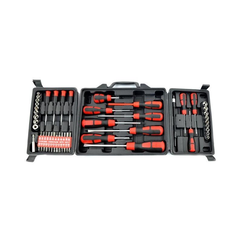 Zestaw narzędziowy Stahlbar KL-12039 - 60 elementów
