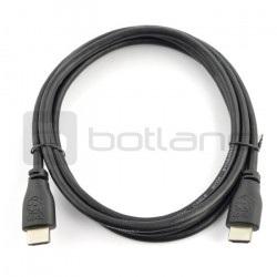 Przewód  HDMI 2.0 dla Raspberry Pi - dł. 2 m - oficjalny