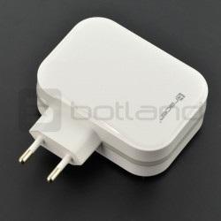 Zasilacz Tracer 4x USB 5V 6,8A - biały