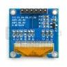 Wyświetlacz OLED niebieski graficzny 0,96'' 128x64px SPI/I2C- zgodny z Arduino - zdjęcie 3