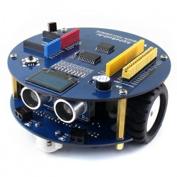 AlphaBot2 - Ar Acce Pack - 2-kołowa platforma robota z czujnikami i napędem DC oraz wyświetlaczem OLED