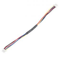 Qwiic przewód żeńsko-żeński z wtykiem 4-pin - 10 cm