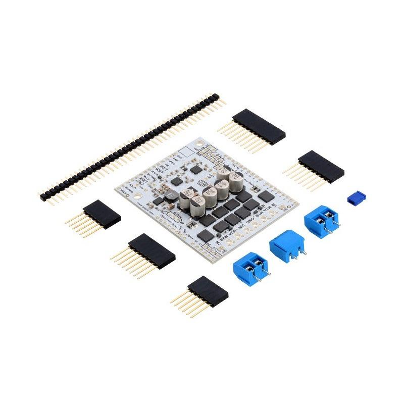 Pololu Dual G2 High-Power 24v18 - dwukanałowy sterownik silników 40V/18A - shield dla Arduino