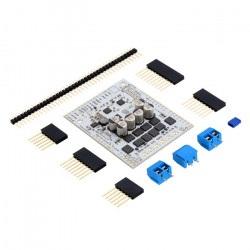 Pololu Dual G2 High-Power 18v22 - dwukanałowy sterownik silników 30V/20A - shield dla Arduino
