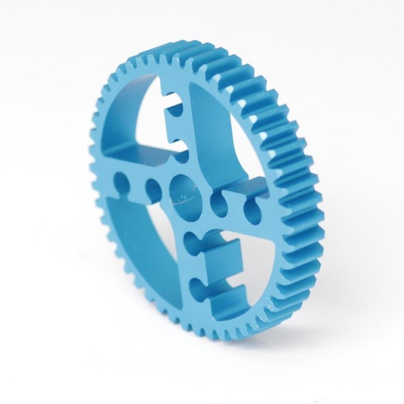 MakeBlock 83420 - koło zebate 48T - niebieski