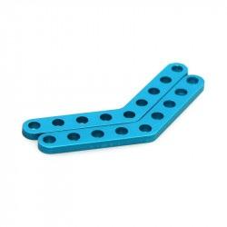 MakeBlock 61400 - płytka 45° - niebieski - 2szt.