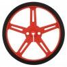 Koła Pololu 70x8mm - czerwone - zdjęcie 2