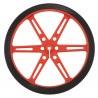 Koła Pololu 80x10mm - czerwone - zdjęcie 2