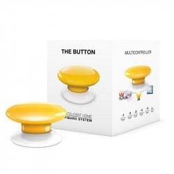 Fibaro Button - przycisk automatyki domowej - czerwony