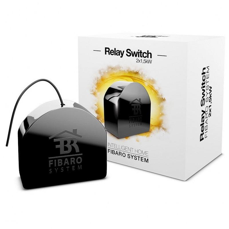 Fibaro Double Relay Switch 2x1,5kW - 2x przekaźnik 230V Z-Wave