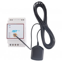 ASTmidi GPS - zegar astronomiczny na szynę DIN z GPS - 2 x wyjście  230V / 5A + zewnętrzna antena
