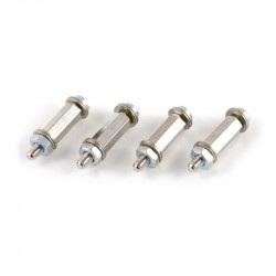 Mounting Kit Four Pack - metalowe dystanse 10 mm do Raspberry Pi + śrubki + podkładki - 4 szt.