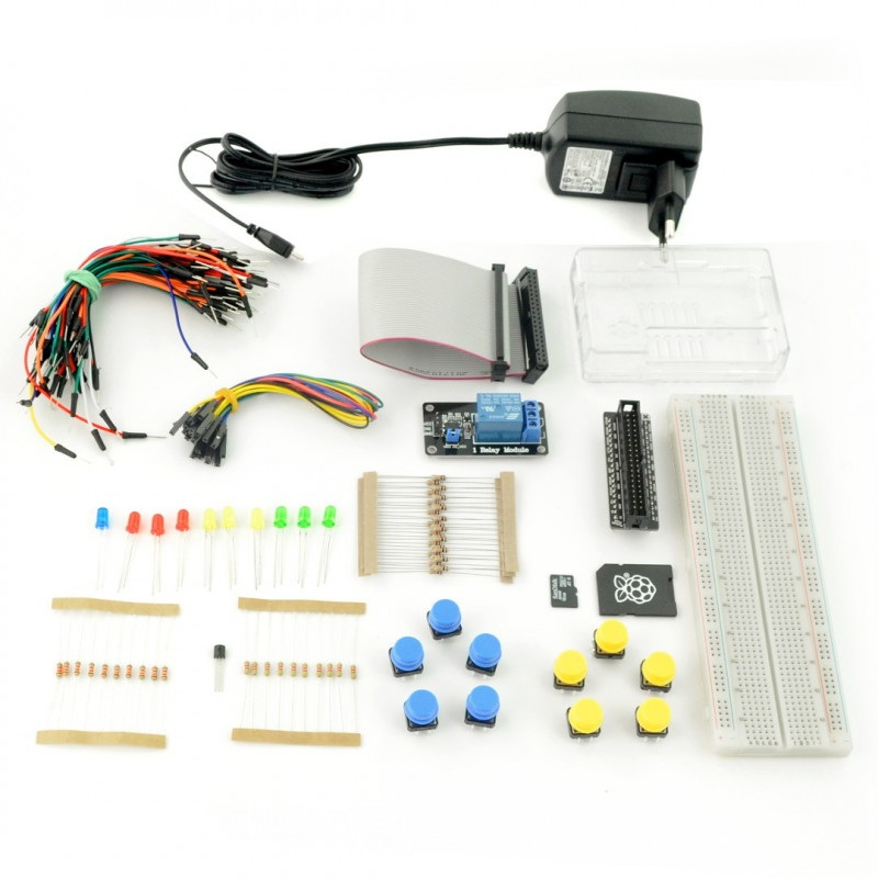 ProtoPi StarterKit - zestaw elementów prototypowych z Raspberry Pi 3