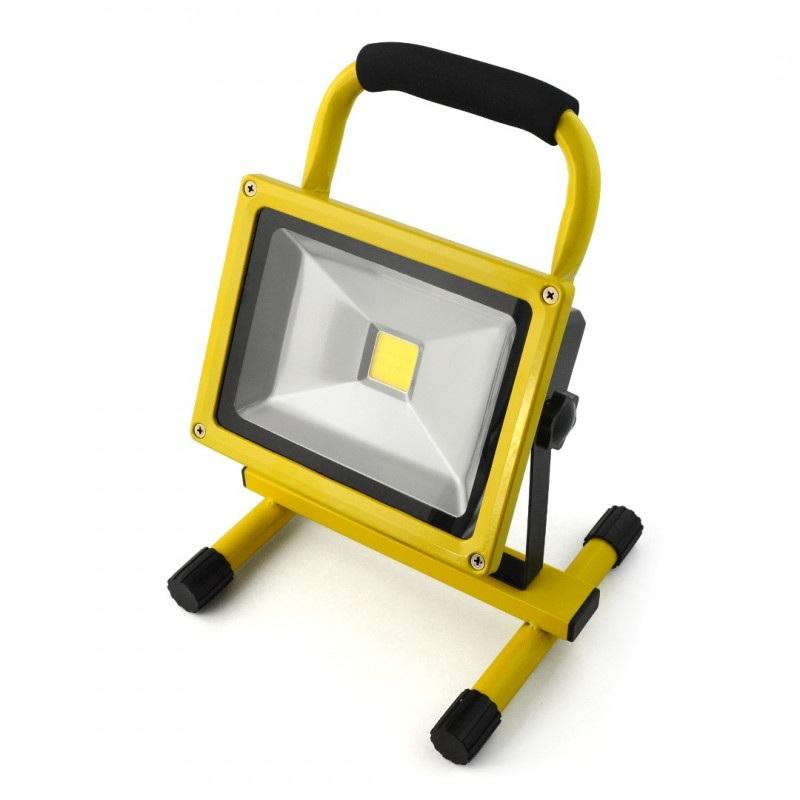 Lampa przenośna LED ART, 20W, 230V, 4000K - biała neutralna