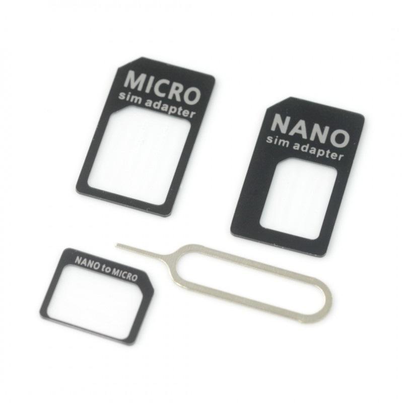 Adapter do kart SIM + kluczyk