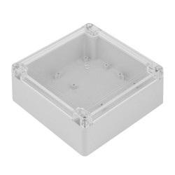 Obudowa plastikowa Kradex ZP150 - 150x150x60mm jasnoszara-przeźroczysta