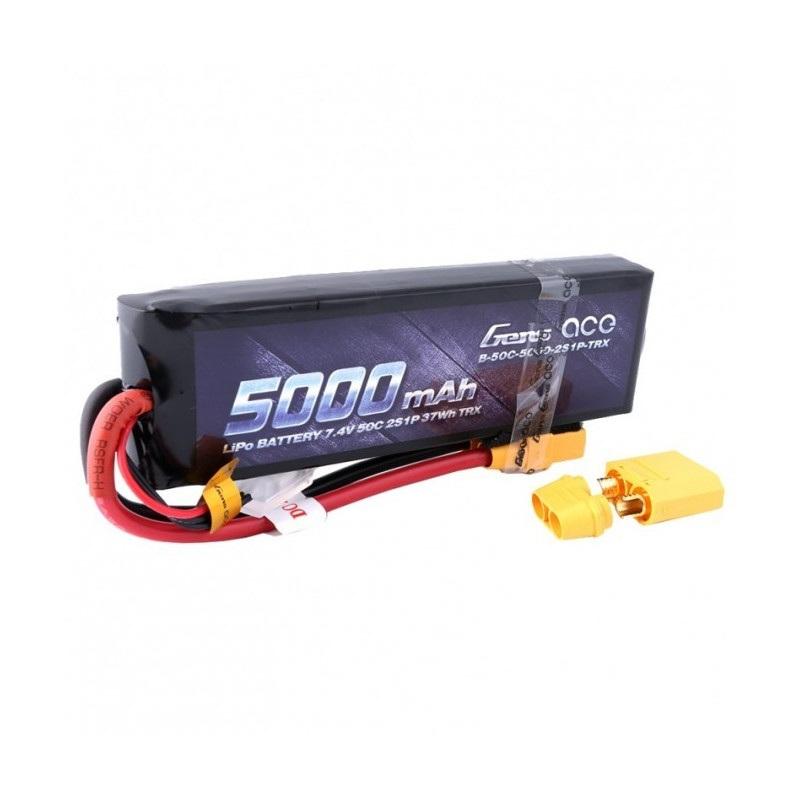 Pakiet Li-Pol Gens Ace 5000mAh 50C 2S 7,4V - XT90