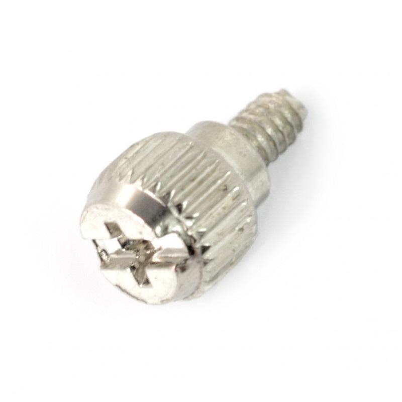 Śrubka M3,5 długość 6 mm z pokrętłem