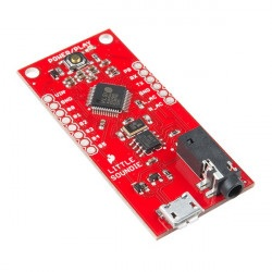 SparkFun Little Soundie Audio Player - odtwarzacz audio OGG/WAV