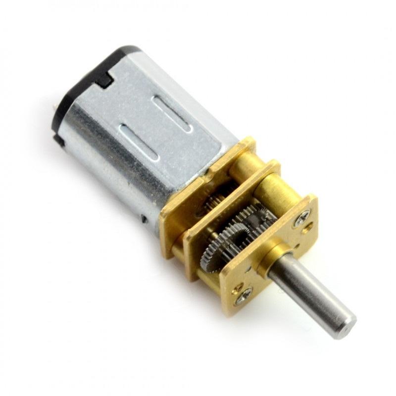 Silnik N20-BT31 micro 210:1 60RPM - 9V