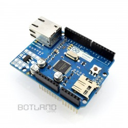 Arduino Ethernet Shield z czytnikiem kart SD