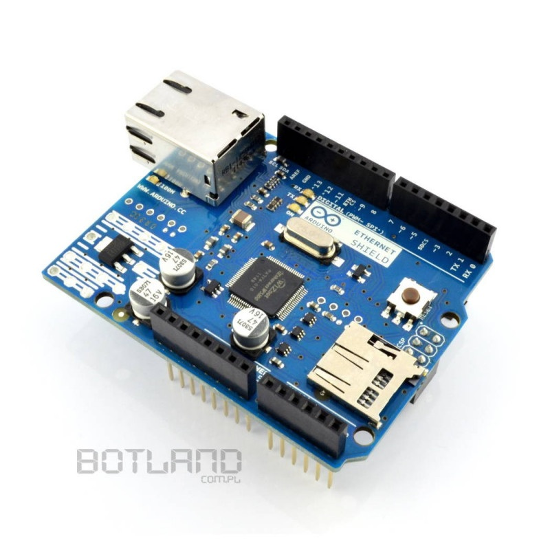 Arduino Ethernet Shield z czytnikiem kart SD