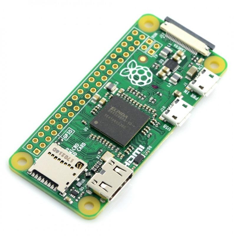 Raspberry Pi Zero 512MB RAM