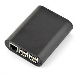 Obudowa Raspberry Pi Model 2/B+ Simple - czarna