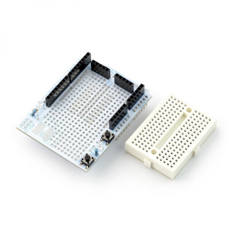 Proto Shield dla Arduino + płytka stykowa 170 otworów - Velleman VMA201