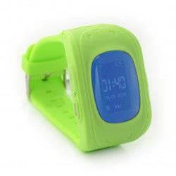 Zegarek Smart Watch dla dzieci z lokalizatorem GPS ART AW-K01- zielony