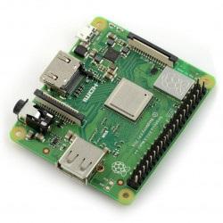 Raspberry Pi 3 model A+ WiFi Dual Band Bluetooth 512MB RAM 1,4GHz
