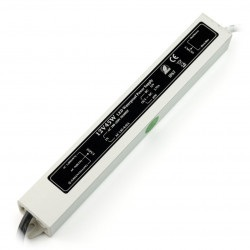 Zasilacz do taśm i pasków LED wodoodporny - 12V / 4,2A / 50W
