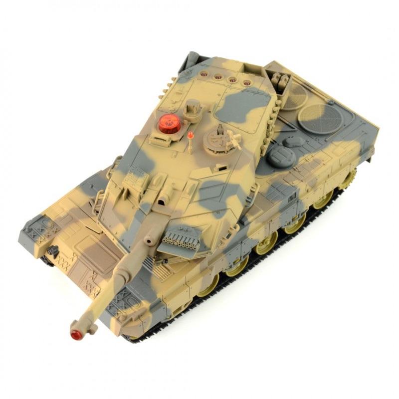 Czołg RC zdalnie sterowany - Leopard - 1:18