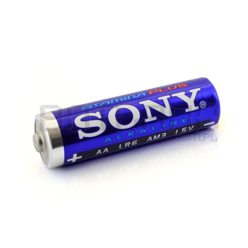 Bateria alkaliczna AA SONY LR06 LR6 stamina plus