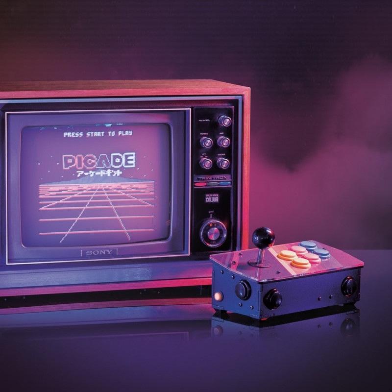 Picade Console - retro konsola - nakładka + akcesoria dla Raspberry Pi 3B+/3B/2B/1B+/Zero