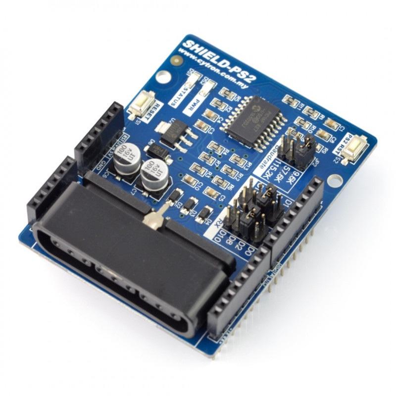 Cytron PS2 Shield - nakładka dla Arduino ze złączem kontrolera PS2