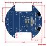 AlphaBot2 Acce Pack - kołowa platforma robota z czujnikami i napędem DC dla micro:bit - zdjęcie 10