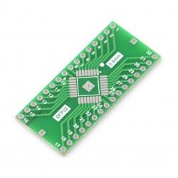 Adapter PCB - QFP32 na DIP