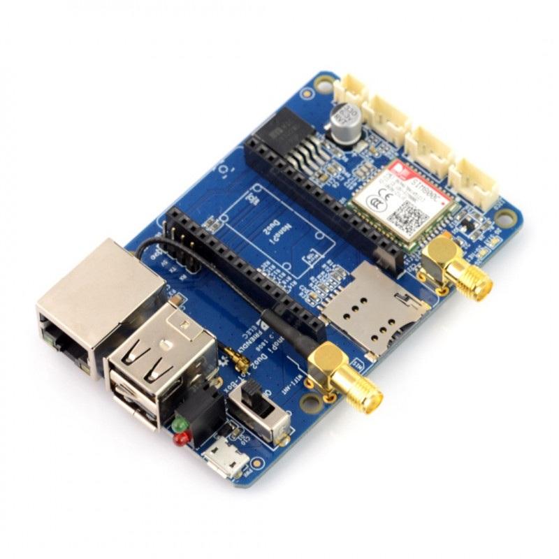 Rozszerzenie IoT-2G GSM/GPRS, WiFi dla NanoPi Duo2
