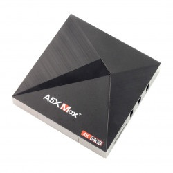 Android 8 Smart TV Box A5X MAX Plus 4GB RAM / 64GB ROM