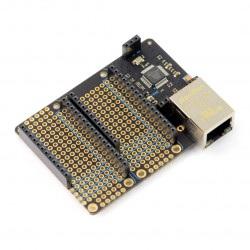 Particle - Ethernet FeatherWing - rozszerzenie Ethernet dla Particle Mesh