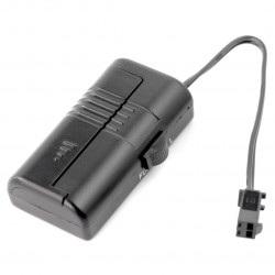 Mini przetwornica step-up 1,5V WY-ELI-IPSF4-0-50CM do przewodów EL - 1xAAA