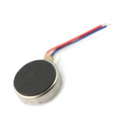 Mini silnik wibracyjny 10x2.7mm - 5V