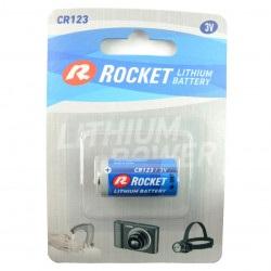 Bateria litowa Rocket - CR123 3V