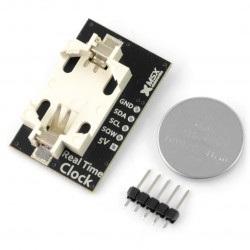 MSX RTC DS1307 I2C - zegar czasu rzeczywistego + bateria